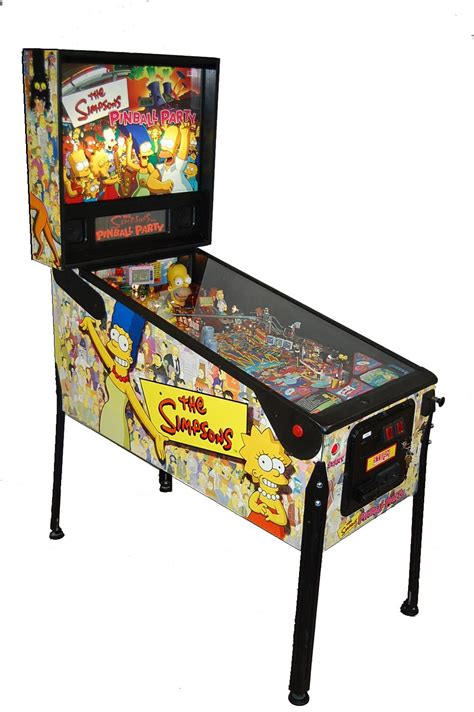 the simpsons pinball pinball machine agr las vegas