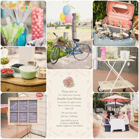 Rustic Bridal Shower by Special Wednesday Planning A Rustic Vintage Bridal Shower