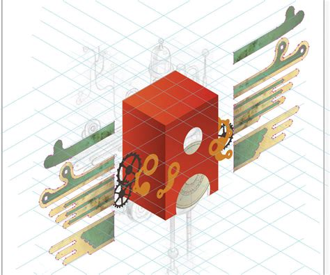 tutorial design adobe illustrator adobe illustrator tutorial design retro isometric artwork