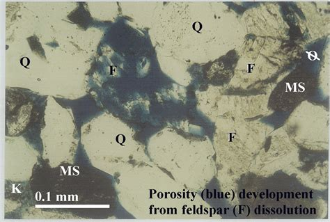 smectite thin section sandstone heterogeneity 3 d reservoir characterization