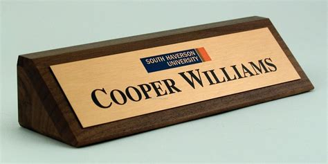 Plastic Nameplates For Desks by Desk Holders For Custom Engraved Signs Acrylic Plastic