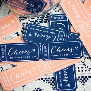 printable drink tickets 10 free wedding printables for the crafty bride party