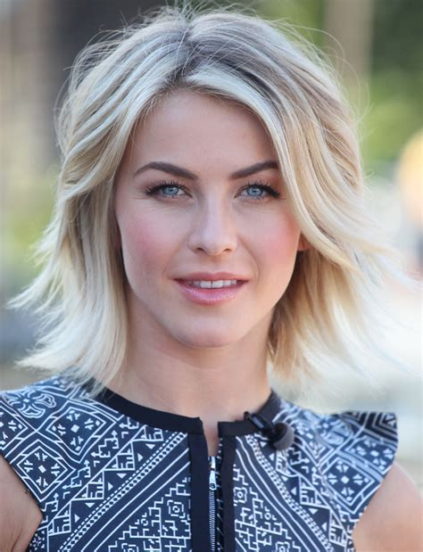 how does julienne hough style her hair 301 moved permanently