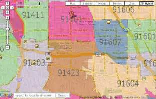 San Fernando Valley Zip Code Map may 5th amp everything after zip code controversy