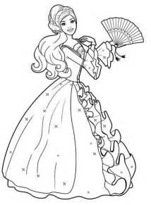 amazing drawing barbie doll coloring 229 larbilder barbie dockor barbie