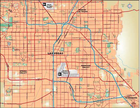 printable las vegas road map las vegas street maps printable chainimage