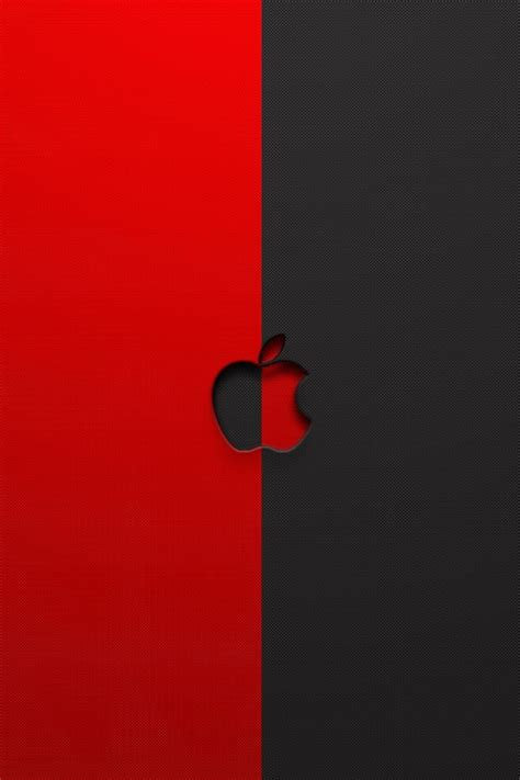 wallpaper iphone 6 red red and black apple logo iphone 6 6 plus and iphone 5 4