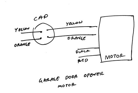 cap start run motor wiring diagram rth3100c wiring diagram