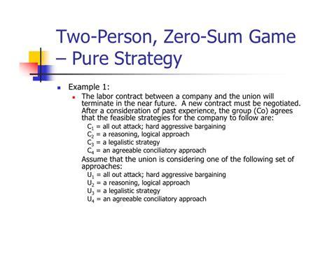 bitcoin zero sum game game theory