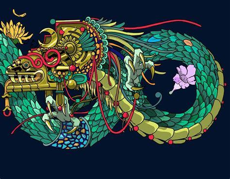 quot quetzalc 243 atl quot la serpiente emplumada quetzalcoatl