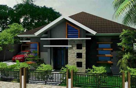 gambar rumah minimalis sederhana  taman minimalis