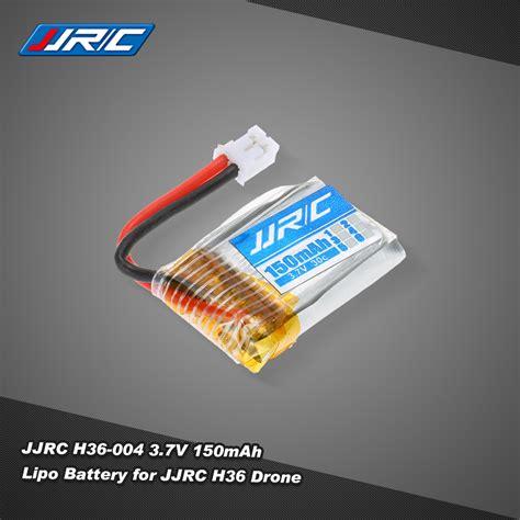 Murah Jjrc H36 Battery Lipo 150mah Original only us 7 25 jjrc h36 004 3 7v 150mah 30c lipo battery for jjrc h36 rc drone quadcopter