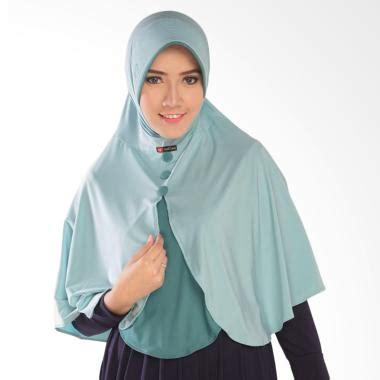 Jilbab Nafisa Anak Jual Nafisa Production Ardani Jilbab Instant Biru Muda