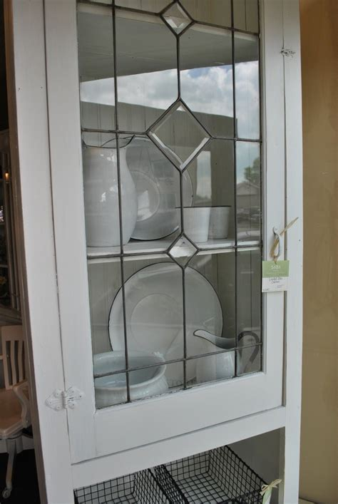 Beautiful Kitchen Cabinets Leaded Glass Doors ? The Ignite