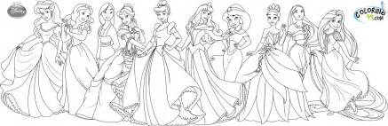 disney princess coloring pages free disney princess coloring pages team colors