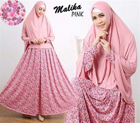 Gamis Nada Syari Hijau Gamis Murah Gamis Cantik gamis cantik murah b103 malika syar i baju muslim motif