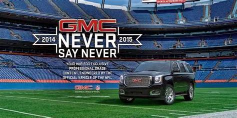 Never Say Never Sweepstakes - 2014 gmc never say never sweepstakes sweepstakesbible