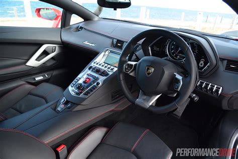 lamborghini aventador interior 2015 lamborghini aventador lp700 4 review video