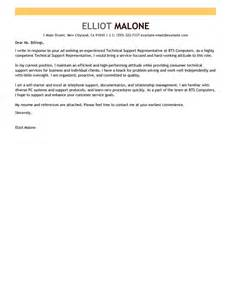 Leading Professional Technical Support Cover Letter