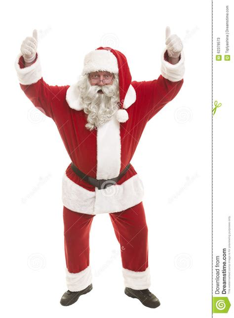 free standing santa claus santa claus standing isolated on white background and