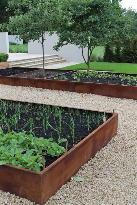 metal raised garden beds 25 best ideas about corten steel on pinterest corten