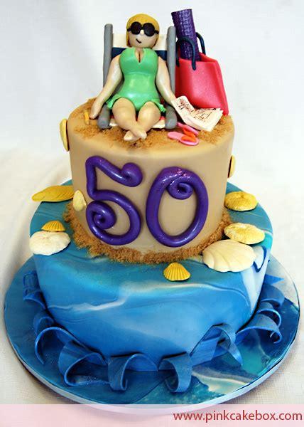 themed birthday cakes nj beach themed cakes 187 pink cake box custom cakes more