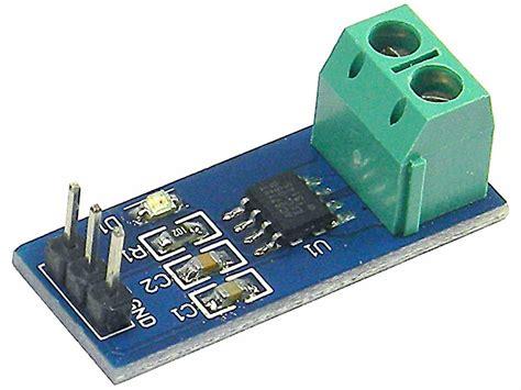 Led Micro Lights by Hall Effect Current Sensor Module 5amps Acs712t 5 Mpja Com