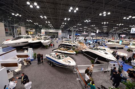 boat show boats to do this week the new york boat show and the big apple