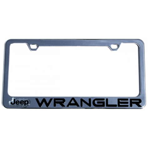 Jeep License Plate Frame Hossrods Jeep Wrangler License Plate Frame Rod