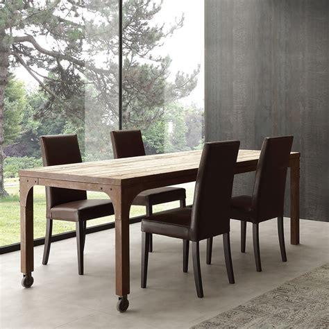 tavolo legno metallo tavolo design industrial per studio in legno e metallo fisso