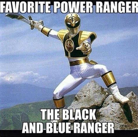 Black Power Ranger Meme - blue and black dress debate and power rangers the