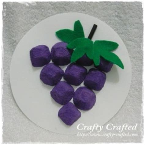 How To Make Paper Grapes - egg grapes grapes of wrath book or numbers make