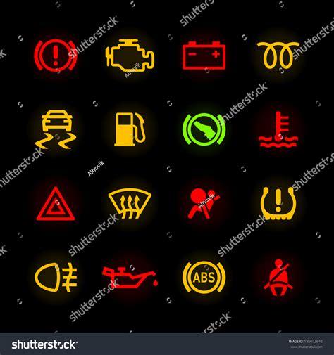 mitsubishi motors stock symbol car dashboard icons vector 185072642