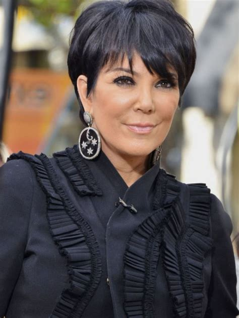 back of chris jenner s hair hairstyles kris jenner simple short hair style this