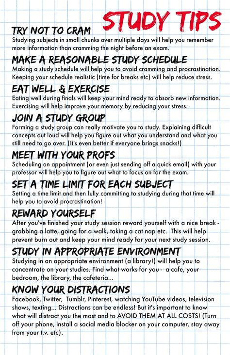 study tips for university students college studying tips study tips for