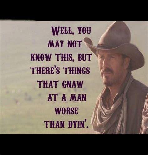 cowboy film quotes open range movie quotes quotesgram