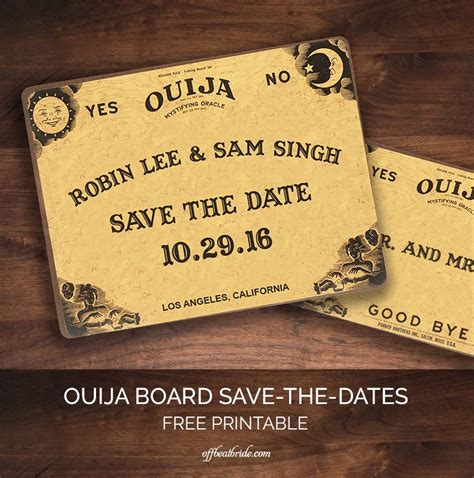 printable ouija board online i predict you will love this ouija board save the date