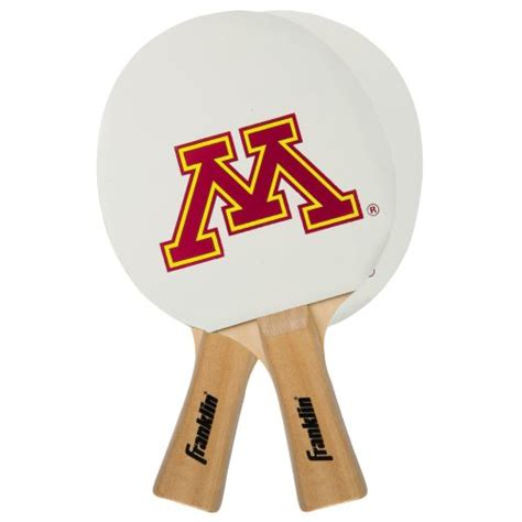 Table Tennis Mn by Franklin Sports Ncaa Minnesota Golden Gophers Collegiate