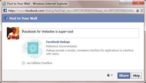 fb ui facebook javascript sdk fb ui opens a popup window
