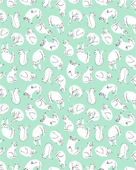 cat background pattern tumblr pretty mint green tumblr backgrounds google search