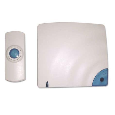 Battery Operated Wireless Doorbell - wireless doorbell battery operated 1 3 8w x 3 4d x 3 1