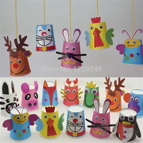 paper cup animals craft 123 best craft plastic paper cup images on