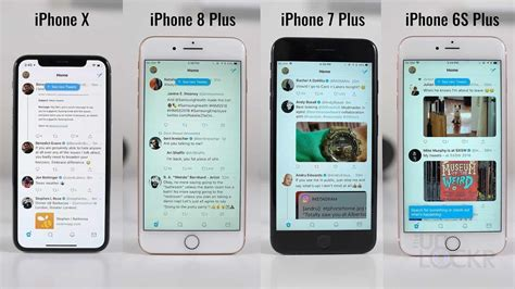 speed test iphone x vs iphone 8 plus vs iphone 7 plus vs iphone 6s plus