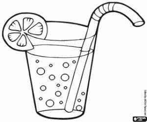 bicchieri da colorare disegni di da bere da colorare e stare