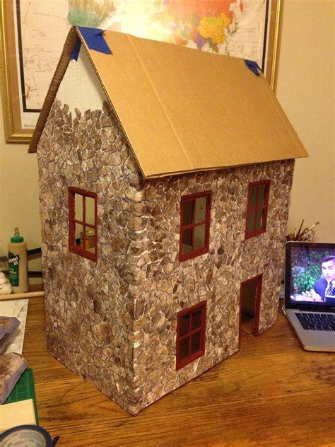 cardboard house 25 b 228 sta cardboard dollhouse id 233 erna p 229 pinterest