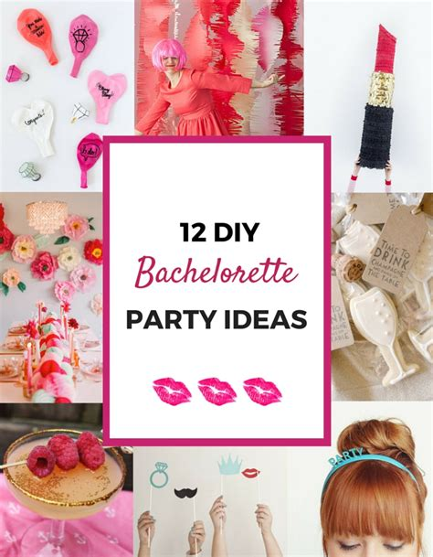 Cheap Decorations For Home by 12 Awesome Diy Bachelorette Party Ideas Pretty Mayhem