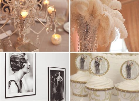 wedding ideas 1920s vintage inspired gowns cocktails accessories venues makeup and more