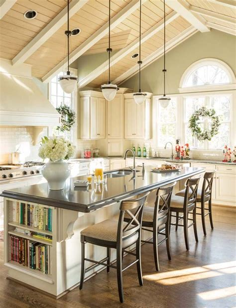 vaulted ceiling kitchen ideas pinterest beamed ceilings vaulted ceiling decor cathedral ceilings