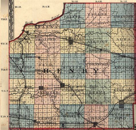 Henry County Il Search Henry County Illinois Maps And Gazetteers