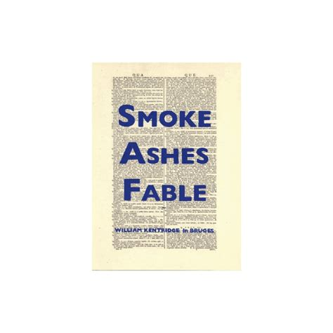 william kentridge smoke ashes fable books william kentridge smoke ashes fable dessinoriginal